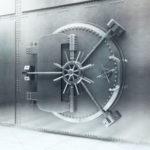 Photo of a steel vault